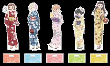 アクリルフィギュアM/描き下ろし(全5種)